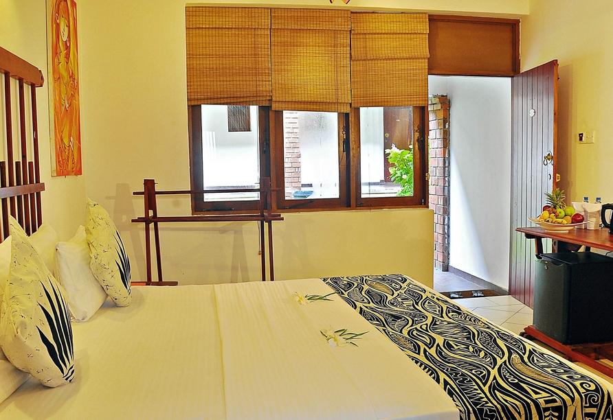 Beispiel Doppelzimmer im Beispielhotel Long Beach Resort.