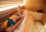 Horizon Wellness & Spa Resort, Italien, Sauna