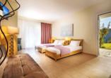 Beispiel eines Studios mit getrennten Betten im Hotel Alkion Resort