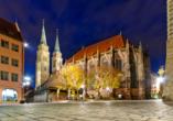 Die St. Lorenz Kirche wird Sie beeindrucken.