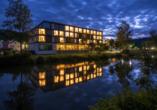 Das IBB Hotel Altmühltal-Eichstätt am Abend