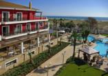 Hotel Mediterranean Princess, Hotel Aussicht