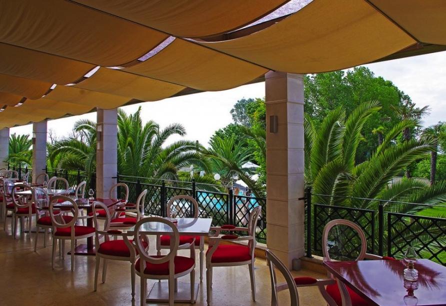 Hotel Mediterranean Princess, Restaurant Außenbereich