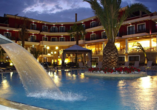 Hotel Mediterranean Princess, Pool Abend