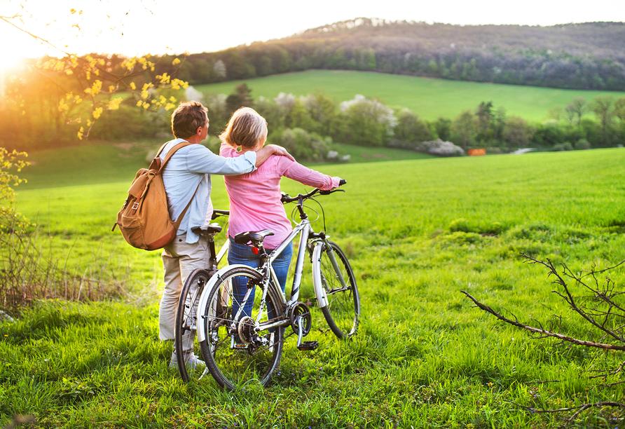 Genießen Sie die Radreise!