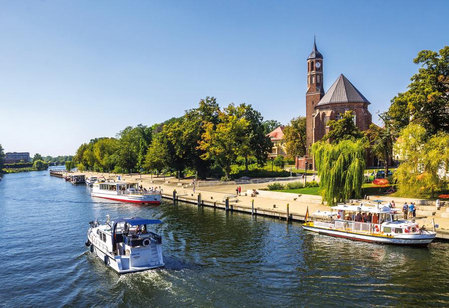 Kloster St. Johannis in Brandenburg an der Havel.