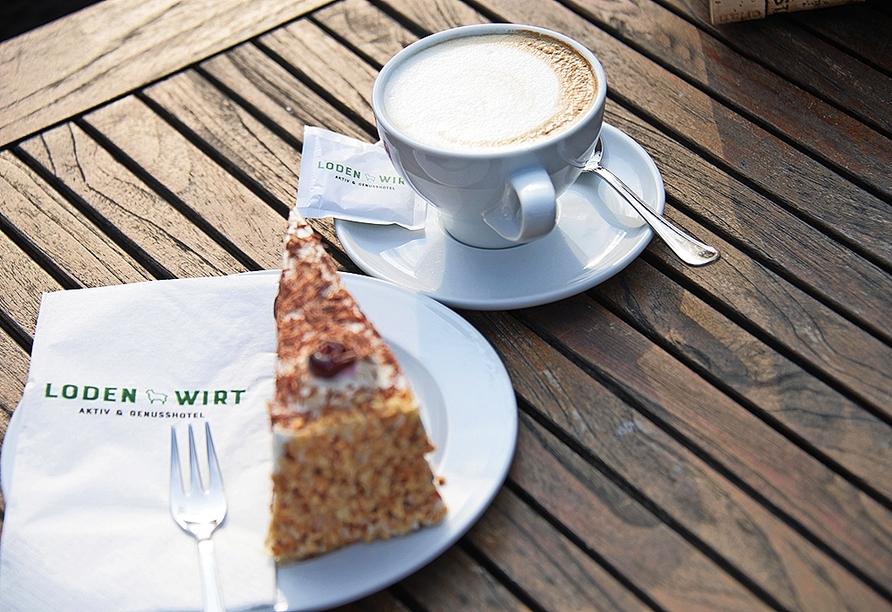 Am Nachmittag können Sie bei leckerem Kuchen die Sorgen des Alltags vergessen.