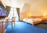 Beispiel eines Doppelzimmers Komfort im Aktiv- und Genusshotels Lodenwirt