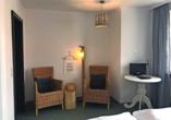 Beispiel eines Doppelzimmers im Hotel Der Hirschen in St. Märgen