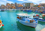 Der schöne Hafen von Heraklion ist einen Besuch wert.