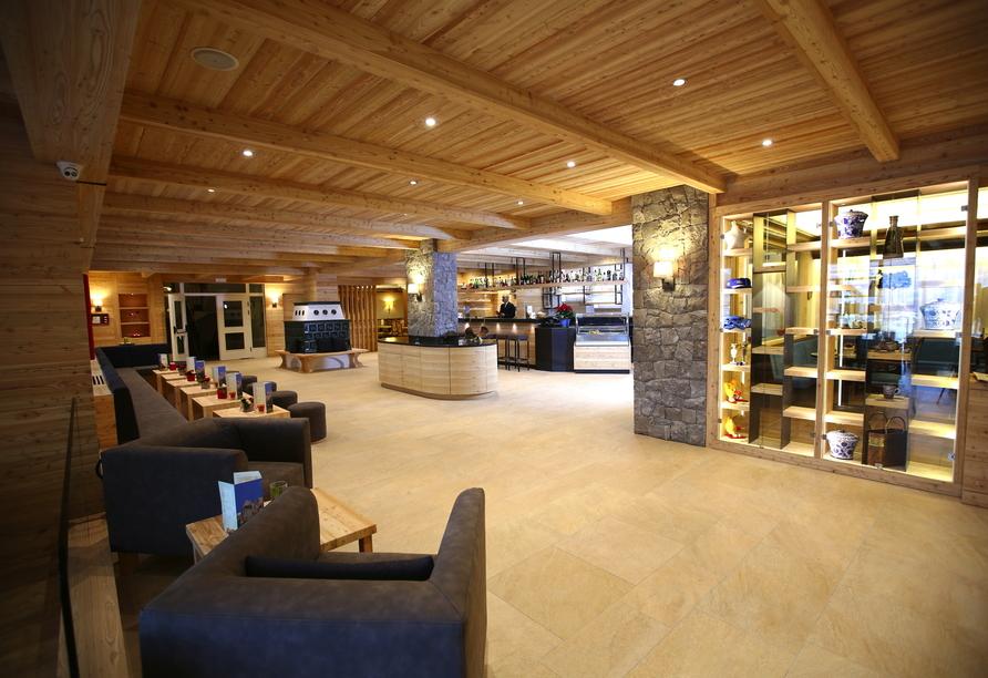 Parc Hotel Miramonti in Völs am Schlern, Lounge