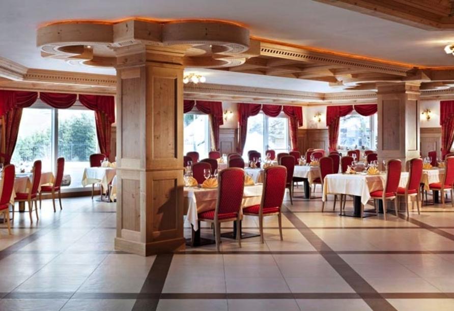 Parc Hotel Miramonti in Völs am Schlern, Restaurant