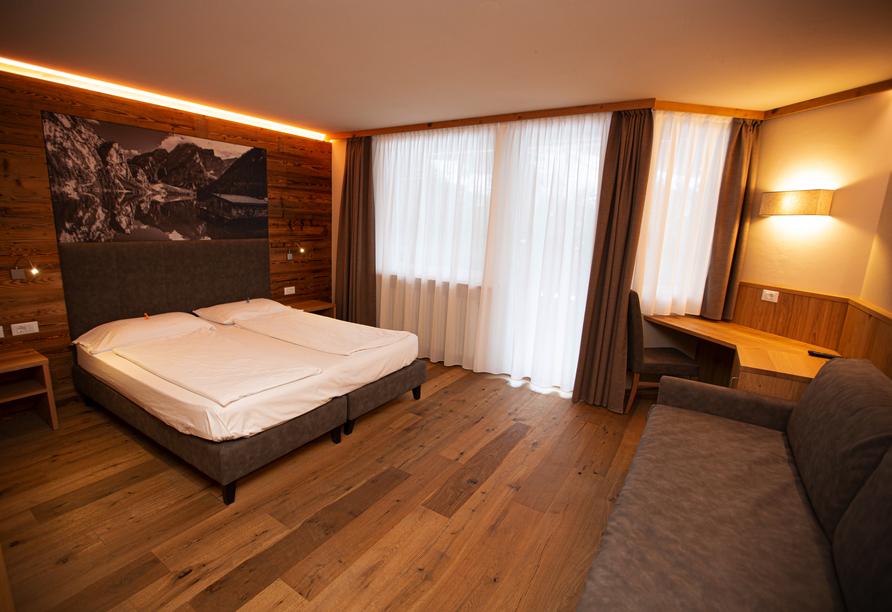 Parc Hotel Miramonti in Völs am Schlern, Zimmerbeispiel