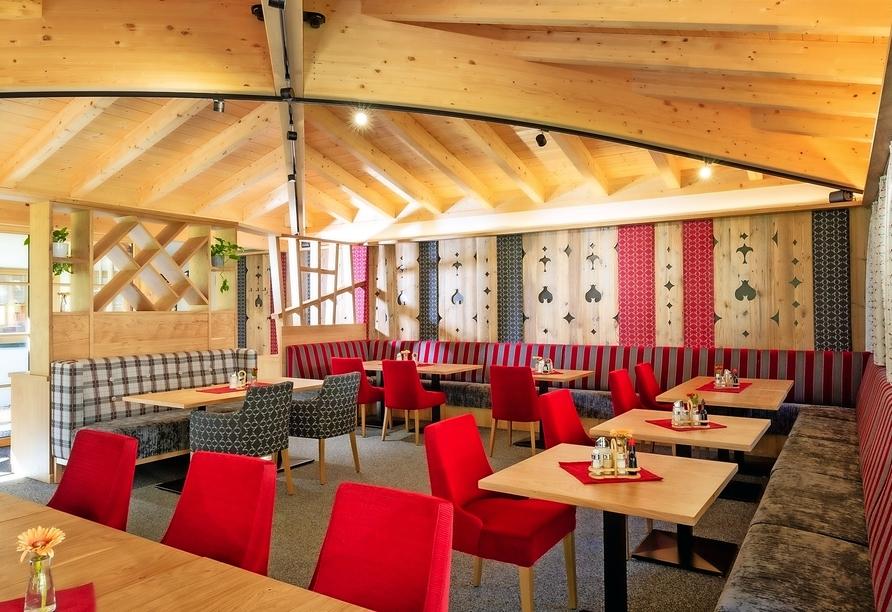 Hotel Jägerhof in Oetz, Restaurant
