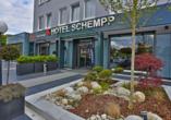 Hotel Schempp in Bobingen, Außenansicht