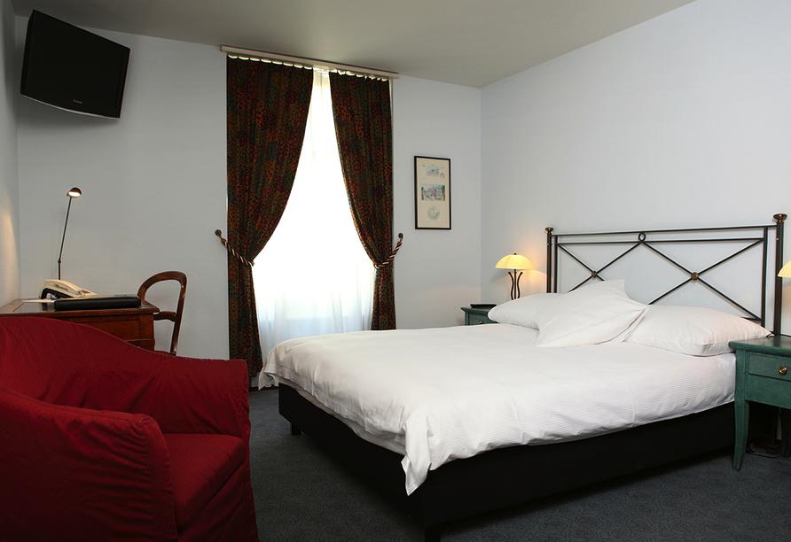 Hotel Montana in Zürich, Schweiz, Zimmerbeispiel