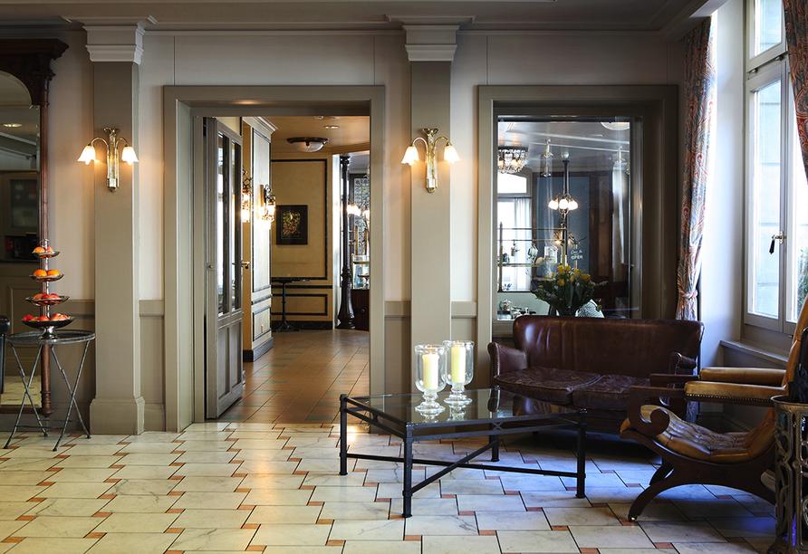Hotel Montana in Zürich, Schweiz, Lobby