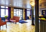 Hotel Montana in Zürich, Schweiz, Eingangsbereich