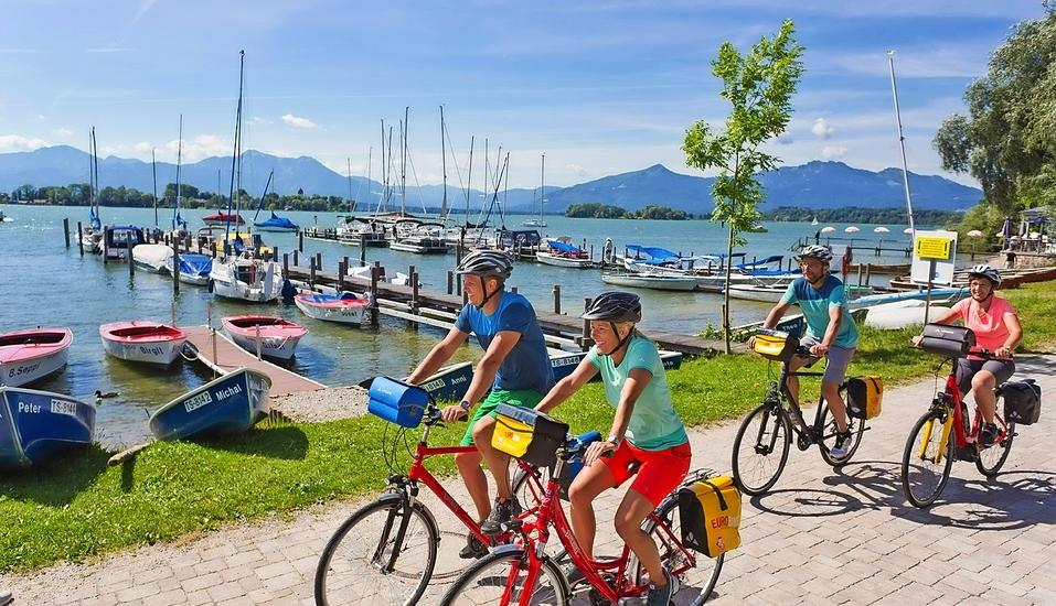 Freuen Sie sich auf eine unvergessliche Radreise vom Chiemsee zum Königssee.