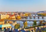 Freuen Sie sich auf Ihren bereits inkludierten Ausflug in die tschechische Metropole Prag.