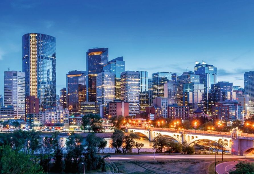Kanadas Highlights von Ost nach West, Calgary