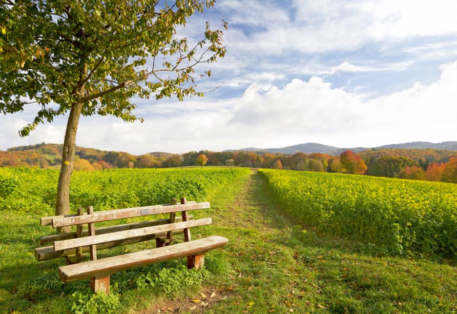 Freuen Sie sich auf schöne Stunden in der Natur.