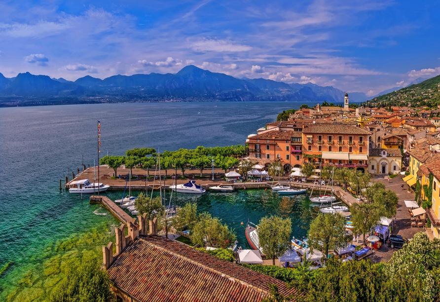 Parc Hotel Gritti, Bardolino, Gardasee, Italien, Torri del Benaco am Gardasee