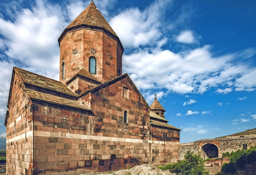 Das Kloster Chor Virap ist einer der bedeutendsten Orte Armeniens.