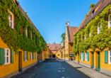 Hotel Schempp in Bobingen, Fuggerei Ausgburg