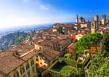 Auch Bergamo ist während Ihrer Reise einen Besuch wert.