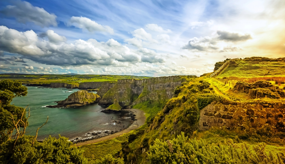 MS Artania, Nordirland