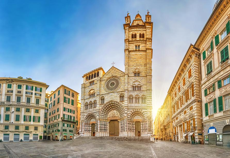 MSC Grandiosa, Genua